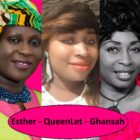 Esther Smith, QueenLet and Rev Mary Ghansah